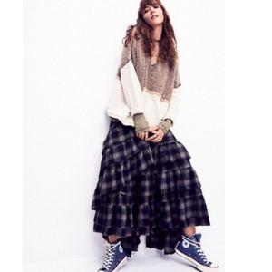 Nicholas K x Free People Enya Plaid Skirt